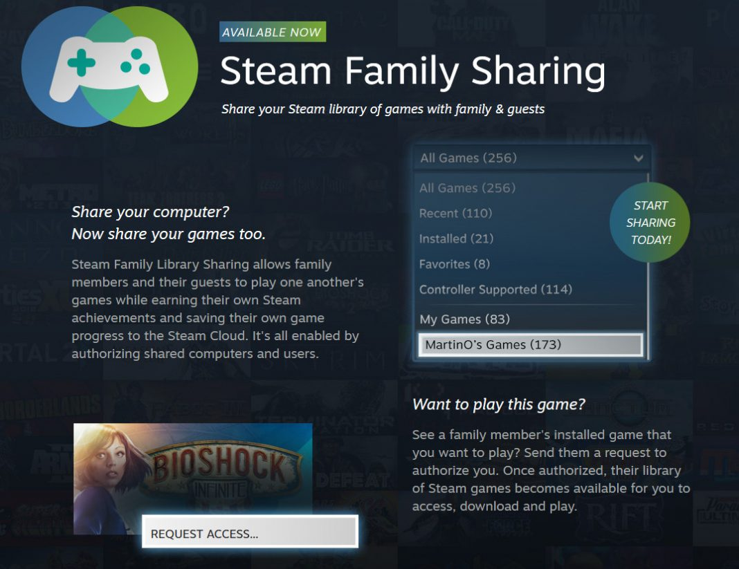 Steam Shared Library Locked